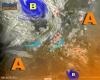 Il Vortice si è portato sullo Ionio e Alpi lambite da perturbazione atlantica