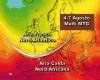 Meteo Agosto: inizio tra rimonte calde africane e temporali