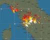Italia, terremoto e temporali. Condizioni meteo in rapido cambiamento. Giovedì nubifragi possibili al Sud