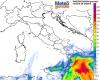 Meteo venerdì: occhio al pericolo nubifragi su estremo Sud. Le zone esposte