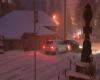 Romania, caos su strade per ghiaccio e neve trasformate in autoscontro: video