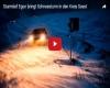 Tempesta Egon sulla Germania, forti venti, neve, danni e grossi disagi. VIDEO