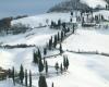 La neve alle porte di Firenze, video dal Mugello