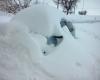 Meteo ABRUZZO, paesi di collina con 1 metro di neve e senza energia elettrica