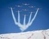 Mondiali di Sci: aereo pattuglia acrobatica trancia cavo, sfiorata tragedia