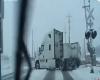 Russia, ghiaccio sull'asfalto, che guaio!