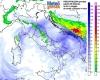 Meteo sabato: perturbazione in rotta verso Sud, neve in Appennino