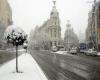 Spagna, improvvisamente inverno: la neve sin su Madrid!