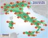 Picco dell'Alta Pressione: prossime ore con punte di 24-25°C