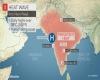 In India è già caldo estremo: temperature over 40°C, e siamo solo a marzo