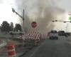 Dust devil nel bel mezzo del traffico: è accaduto in Texas