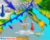 Repentino cambio meteo su Italia: breve flash di caldo al Centro Sud, maltempo al Nord e poi neve su Alpi