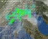 In atto peggioramento meteo sul Nord Italia