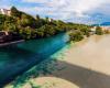 Spettacolo della natura: quando due corsi d'acqua s'incontrano