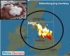 Isole Britanniche, con l'anticiclone africano temporali simil tropicali, grandine