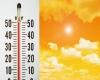 Caldo da record del 25 giugno 2007: punte massime estreme fino a 47 gradi