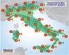 Primi cali termici, ma anche rialzi: oggi fornace africana al Sud Italia