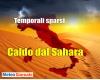 Meteo tropicale in Italia: temporali in atto al Nord. Molto caldo nel resto del Paese