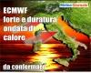 Centro Meteo europeo: duratura 6° ondata di calore