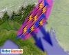 Meteo estremo: burrasca estiva in atto nel Nord Italia, nubifragi, grandine e downburst