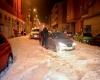Meteo estremo in Spagna, grandine da record, città paralizzata