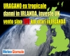 METEO URAGANO: tutta Irlanda KO per Ophelia. Blocco trasporti. Tempesta in Inghilterra e Scozia in Inghilterra