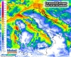Previsione pioggia: mappe meteo
