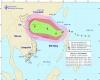 Il tifone Khanun all'attacco della Cina meridionale