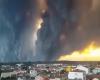 Gigantesco incendio in Portogallo