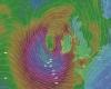 Nuovo maltempo verso Gran Bretagna, con arrivo di venti di tempesta