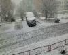 Russia orientale, forte neve di fronte coste Giappone