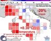 Clima Autunno 2017 sull'Italia, tra siccità record e primi freddi precoci