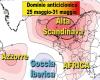 Meteo trend: dominio anticiclonico sino a fine maggio