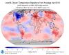Con Aprile sono 400 mesi consecutivi di caldo anomalo planetario