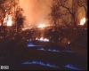 Eruzione Kilauea continua, il vulcano provoca fiamme blu. Svelato mistero