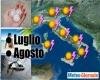 Centro meteo europeo: Luglio e Agosto, più TEMPORALI ed anche GRANDINE e CALDO