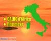 METEO fine MESE CALDO d'Africa, i primi 40°C? Ecco dove si rischiano