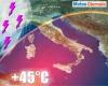 Trend meteo due settimane: CALDO AFRICANO e nuova BURRASCA estiva