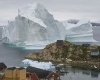 Iceberg enorme in Groenlandia, rischio tsunami minaccia villaggio