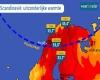 Meteo Europa estremo, caldo record impressionante e incendi in Scandinavia