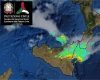 Meteo Sicilia, temporali di forte intensità nel settore centro orientale