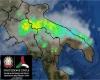 Meteo temporalesco tra Campania, Basilicata e Puglia