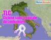 """Centri Meteo: """"rischio CICLONE mediterraneo"""". I dettagli"""