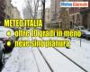 Centro Meteo europeo: possibilità di neve in Val Padana per la prossima settimana. Da confermare