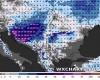 Previsioni meteo di forte neve sui Balcani