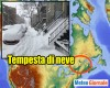 Meteo avverso in Canada: tempesta invernale sul Quebec