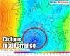 CICLONE MEDITERRANEO INVERNALE: quanto è anomalo per il nostro meteo