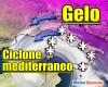 Meteo avverso, ciclone con neve dalla Sardegna all'Appennino meridionale, i monti della Sicilia