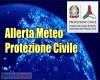 Allerta meteo Protezione Civile, il comunicato stampa