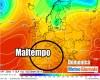 Trend meteo altro MALTEMPO poi molto CALDO